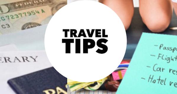 Tourist Tips